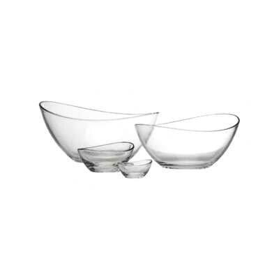 """Zieher 6-er Glasschalen Set oval """"Klaro"""""""