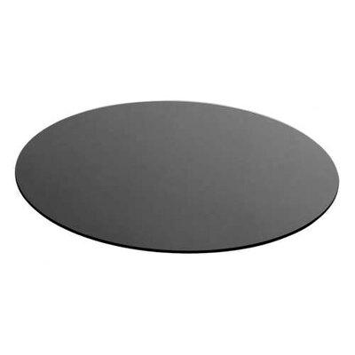 Zieher Platzteller in Schwarz