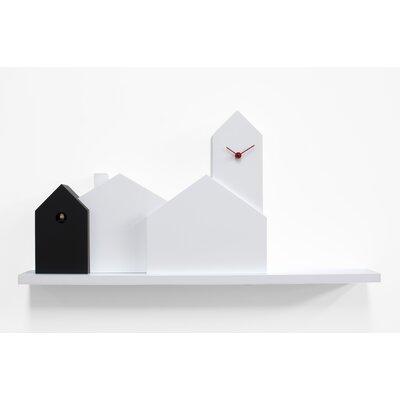 Progetti Town Cuckoo Wall Clock