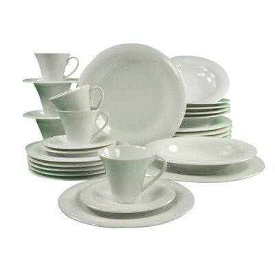 Creatable Soft 30 Piece Dinnerware Set