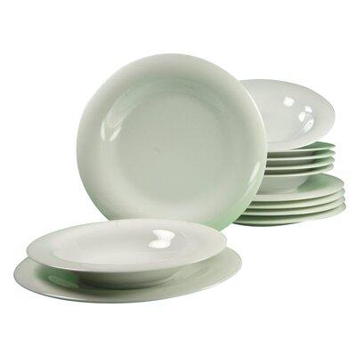 Creatable Soft 12 Piece Dinnerware Set