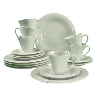 Creatable Soft 18 Piece Dinnerware Set
