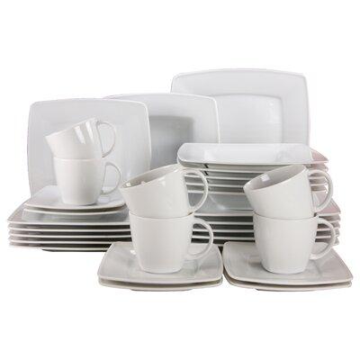 Creatable Victoria Weiß 30 Piece Dinnerware Set