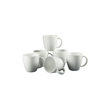 Creatable Victoria Weiß Coffee Mug Set of 6