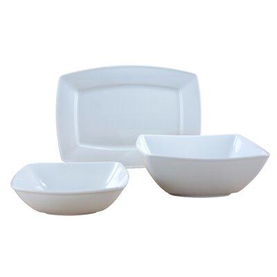 Creatable Victoria Weiß 3 Piece Serving Set