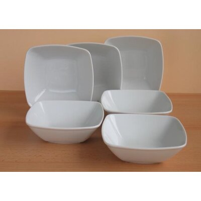 Creatable Victoria White Muesli Bowl Set of 6
