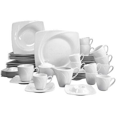 Creatable Celebration 50 Piece Dinnerware Set