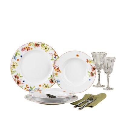 Creatable Fiore 12 Piece Dinnerware Set