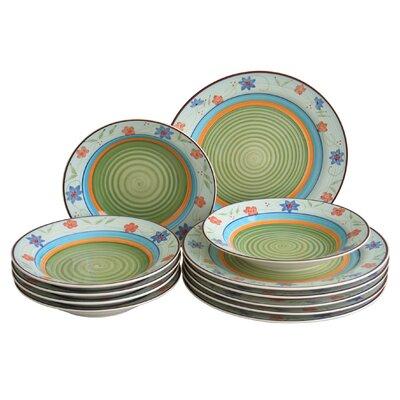 Creatable 12 Piece Dinnerware Set