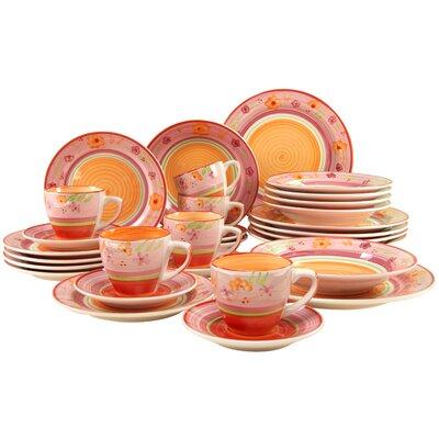 Creatable Viva 30 Piece Dinnerware Set