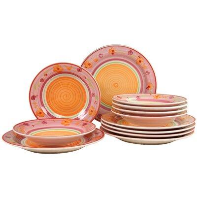 Creatable Viva 12 Piece Dinnerware Set