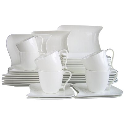 Creatable 30 Piece Dinnerware Set