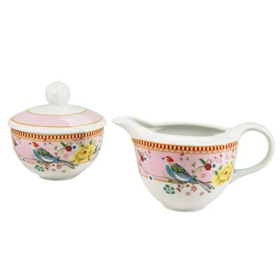 Creatable Amelia Birdy Sugar and Creamer Set