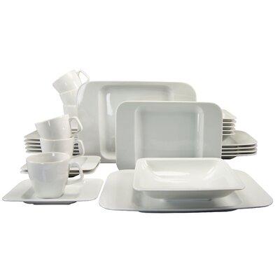 Creatable Smart 30 Piece Dinnerware Set