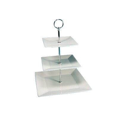 Creatable Square 3 Tier Cake Stand