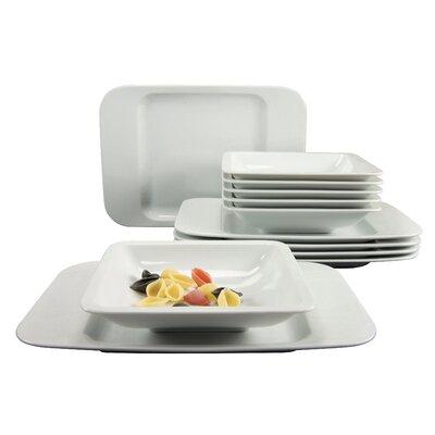 Creatable Smart 12 Piece Dinnerware Set