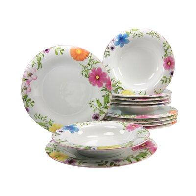 Creatable Soft Samira 12 Piece Dinnerware Set