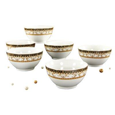 Creatable Majestosa 6 Piece Muesli Bowl