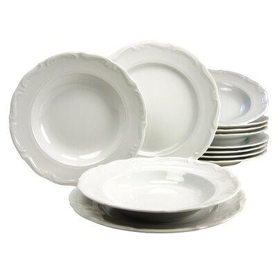 Creatable Maria Theresia 12 Piece Dinnerware Set