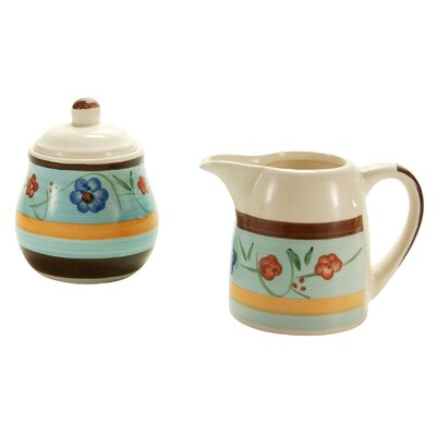 Creatable Sugar and Creamer Set