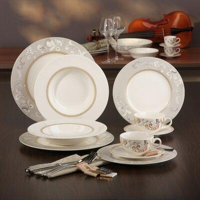 Creatable Palacio 30 Piece Porcelain Dinnerware Set