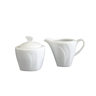 Creatable 2 Piece Celebration Milk and Sugar Set
