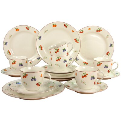 Creatable NBC Früchtetraum 18 Piece Coffee Set