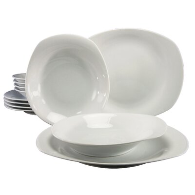 Creatable Finessa 12 Piece Dinnerware Set