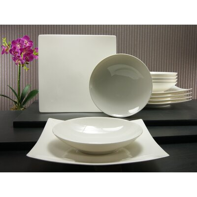 Creatable Pure 12 Piece Dinnerware Set