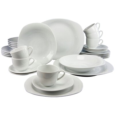 Creatable Finessa 30 Piece Dinnerware Set