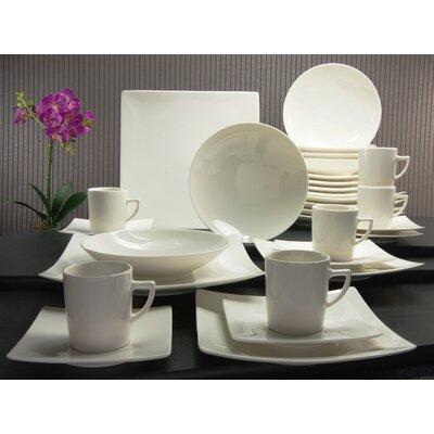 Creatable Pure 30 Piece Dinnerware Set