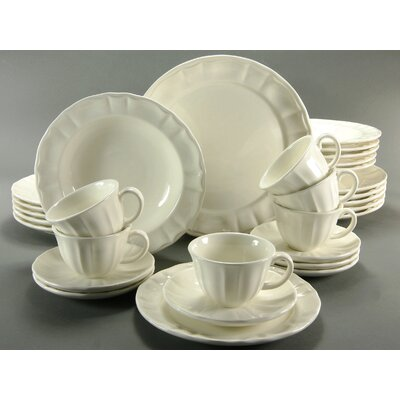 Creatable Neoclassic 30 Piece Dinnerware Set