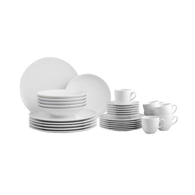 Creatable Zen 30 Piece Dinnerware Set