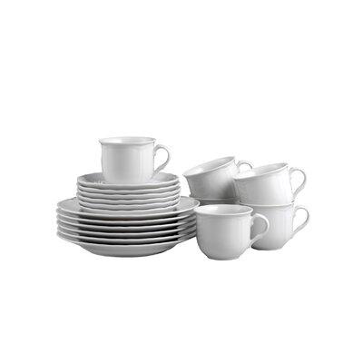 Creatable Alba 18 Piece Dinnerware Set