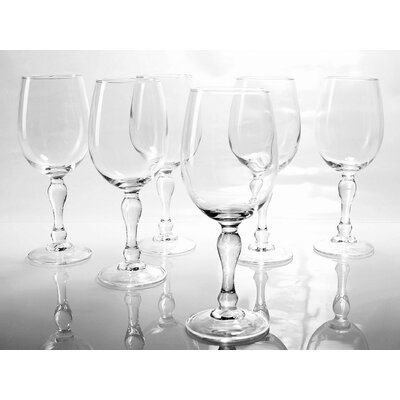 Creatable Charms 6 Piece Red Wine Glass Set
