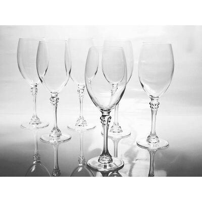 Creatable Poetic 6 Piece Red Wine Glass Set