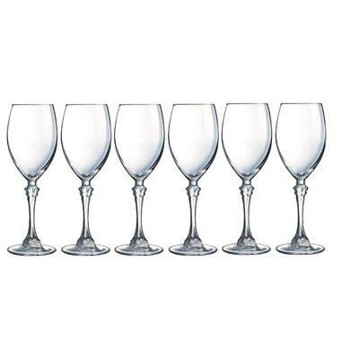 Creatable Poetic 6 Piece White Wine Glass Set