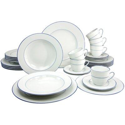Creatable Blue Sky 30 Pieces Dinnerware Set
