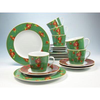 Creatable Country British Style 18-Piece Tea Set