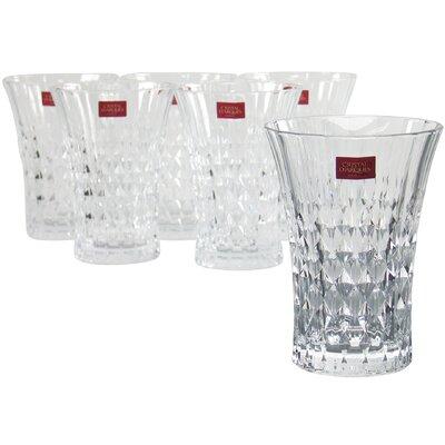 Creatable Lady Diamond Long Drink Glass (Set of 6)