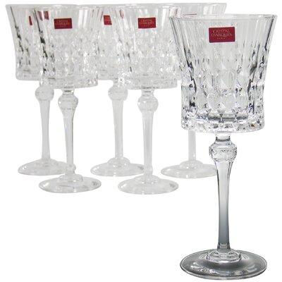 Creatable Lady Diamond Red Wine Glass (Set of 6)