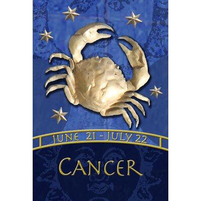 Zodiac-Cancer Garden flag