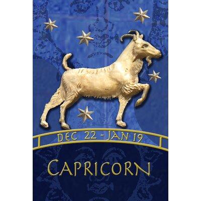 Zodiac-Capricorn Garden flag
