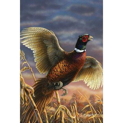 Field Pheasant Garden flag