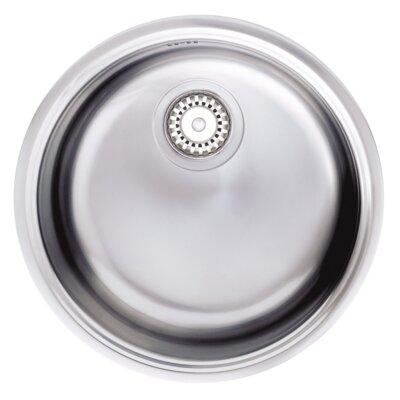 Astracast Oleander 43cm x 43cm Round Flush Bowl Kitchen Sink