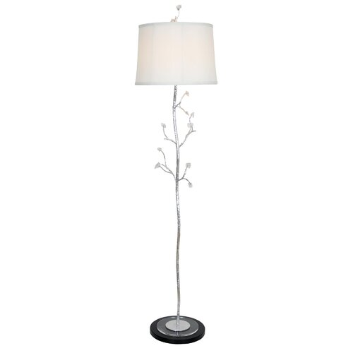 Crackled Ice 63 Floor Lamp