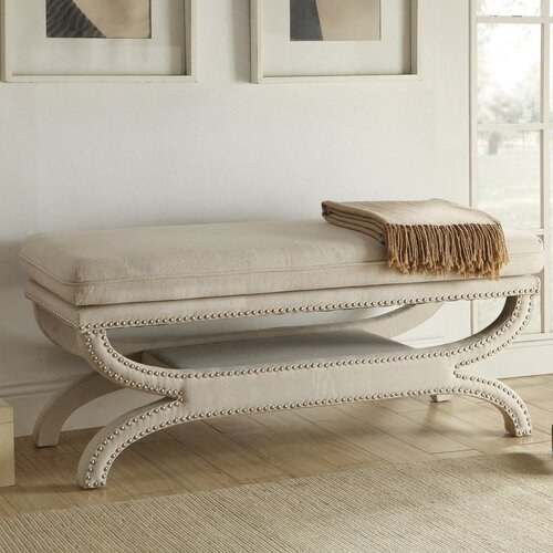 Wildon Home Upholstered Bedroom Bench Reviews