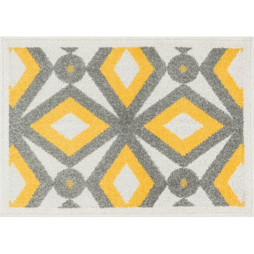 Loloi Rugs Terrace Grey/Lemon Rug & Reviews