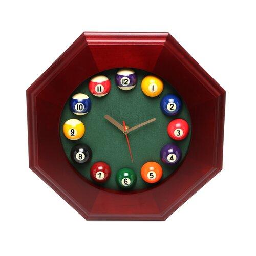 Game Room Pool Quartz Wall Clock