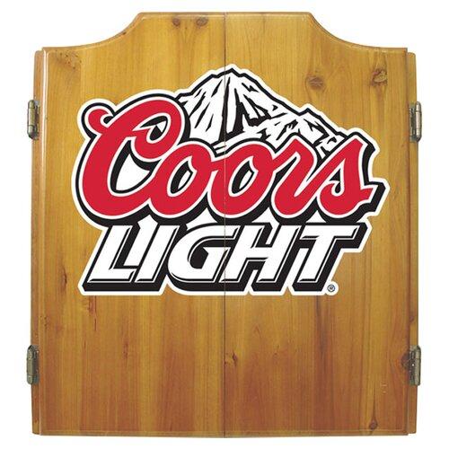 Coors Light Dart Cabinet Set